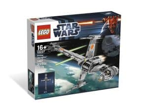 lego 10227 b wing starfighter