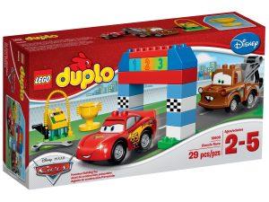 lego 10600 disney pixar cars classic race