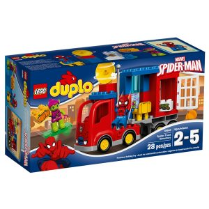 lego 10608 spider man spider truck adventure
