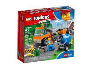 lego 10750 road repair truck