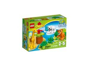 lego 10801 baby animals