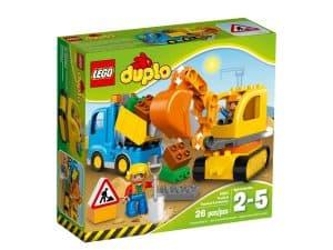 lego 10812 truck tracked excavator