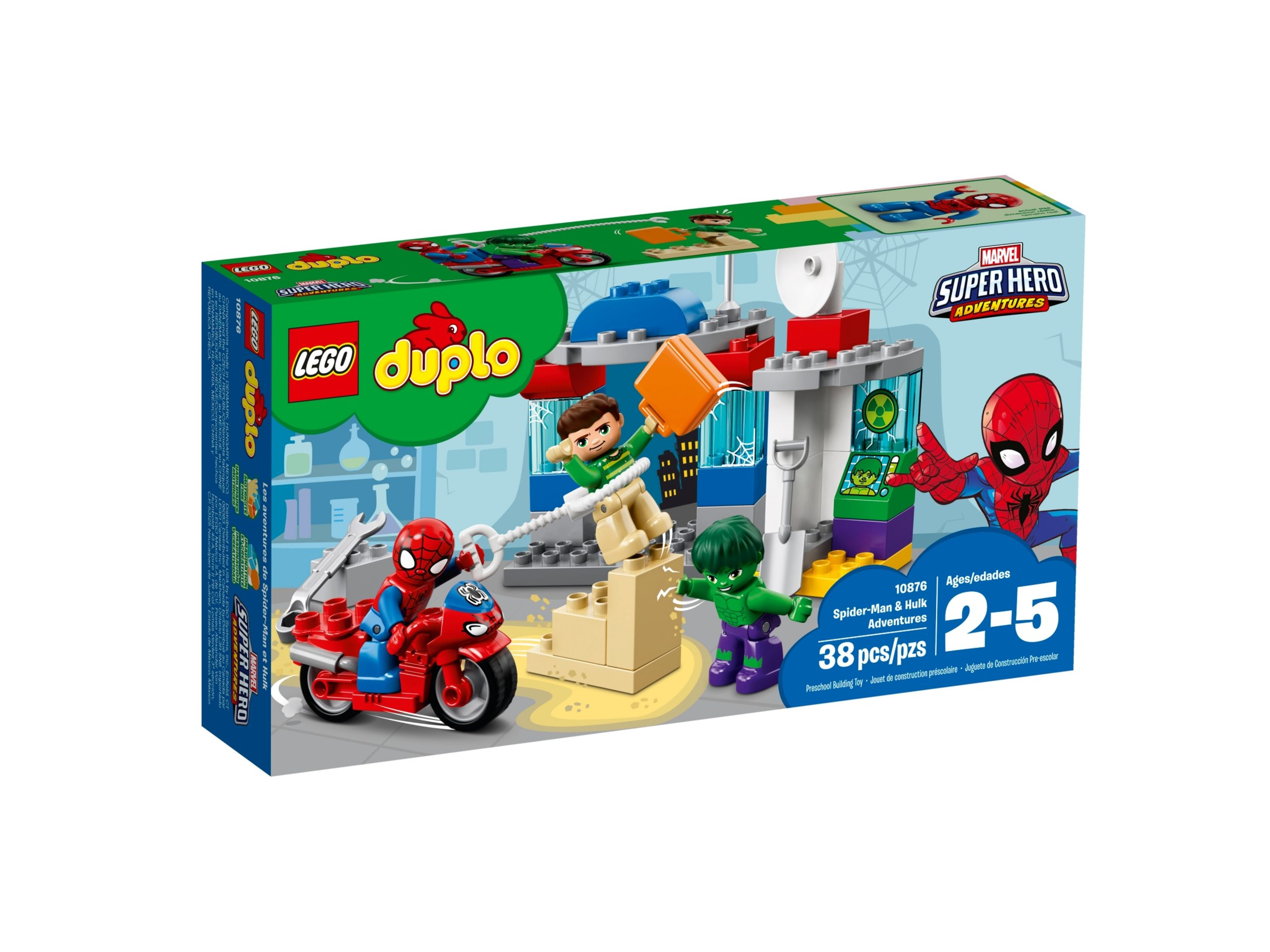 lego 10876 spider man hulk adventures scaled