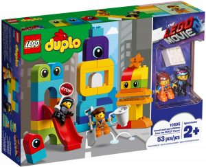 lego 10895 emmet and lucys visitors from the duplo 10895 planet