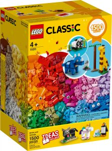 lego 11011 bricks and animals