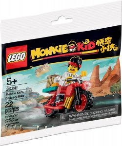 lego 30341 monkie kids delivery bike