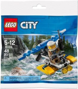 lego 30359 police water plane