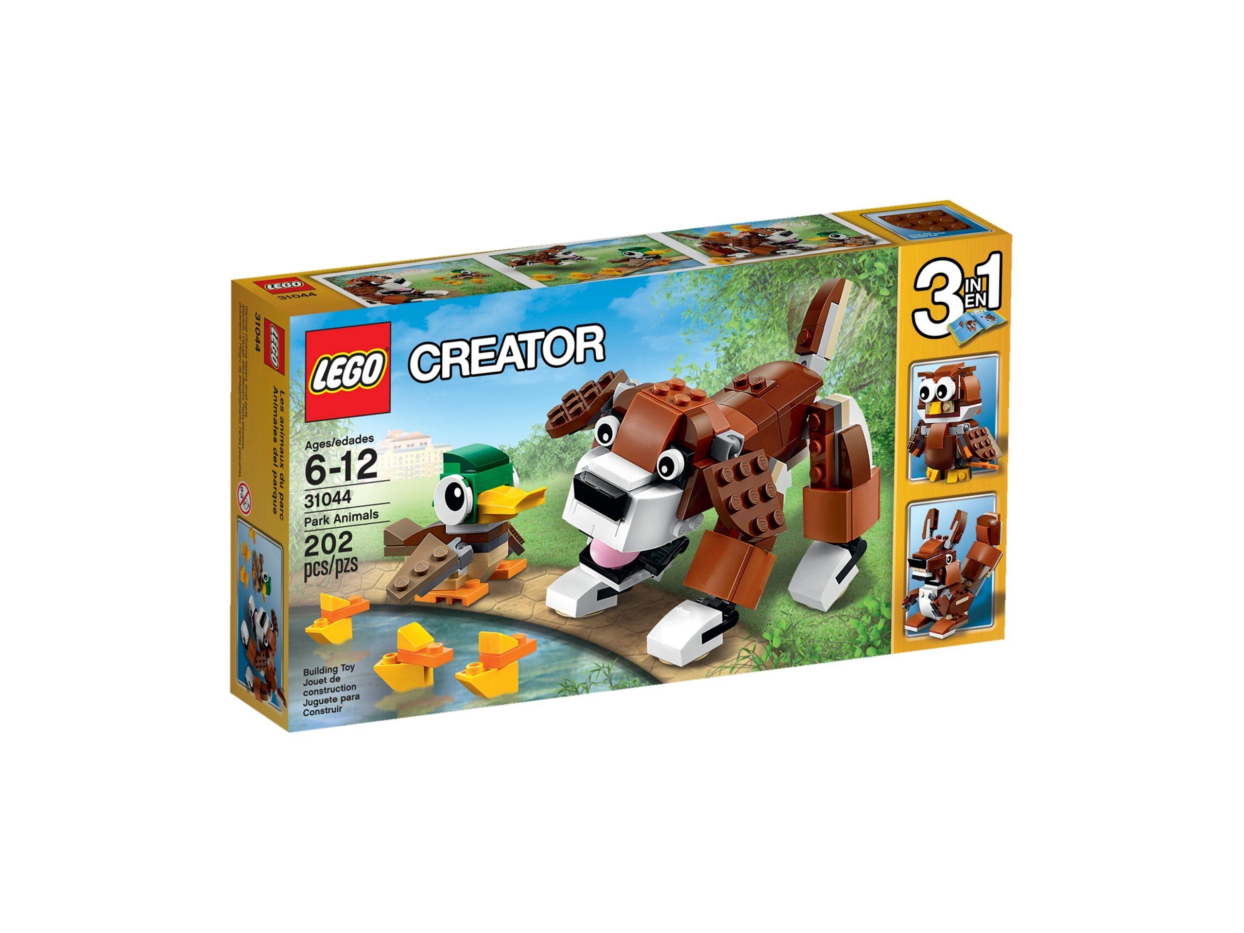 lego 31044 park animals scaled