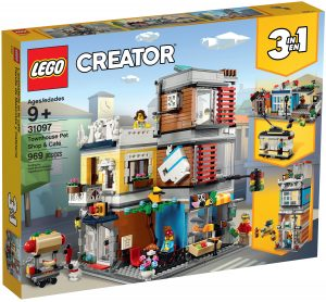 lego 31097 townhouse pet shop cafe
