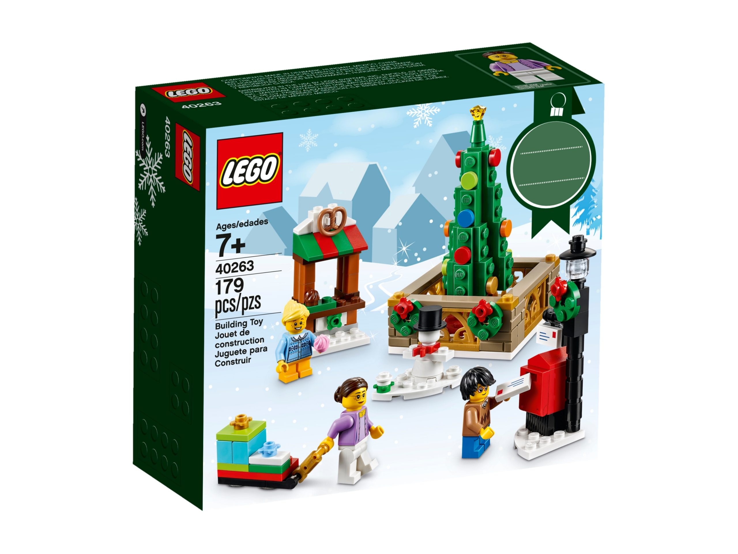 lego 40263 christmas town square scaled