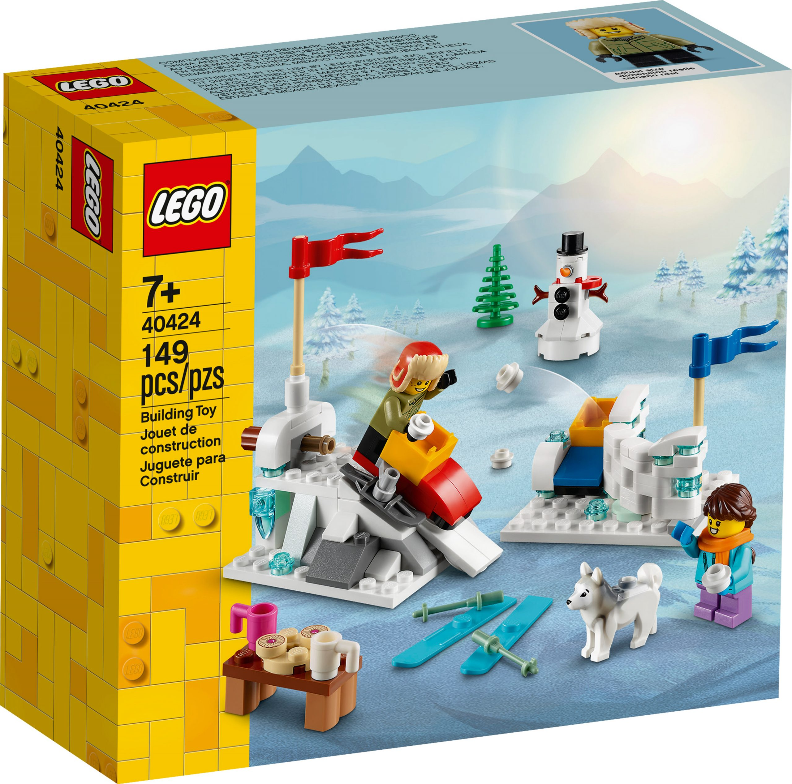 lego 40424 winter snowball fight scaled