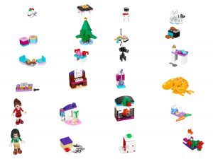 lego 41131 friends advent calendar
