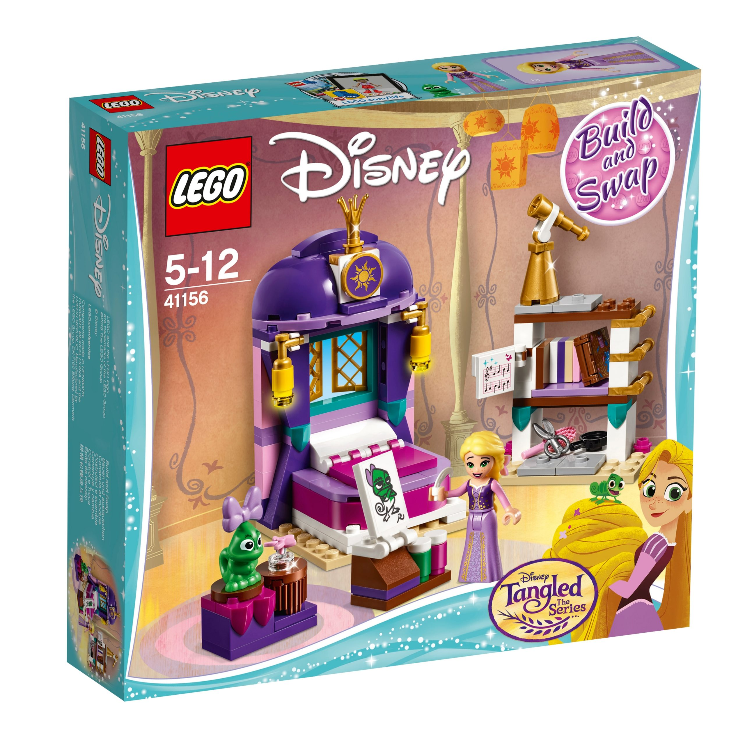 lego 41156 rapunzels castle bedroom scaled