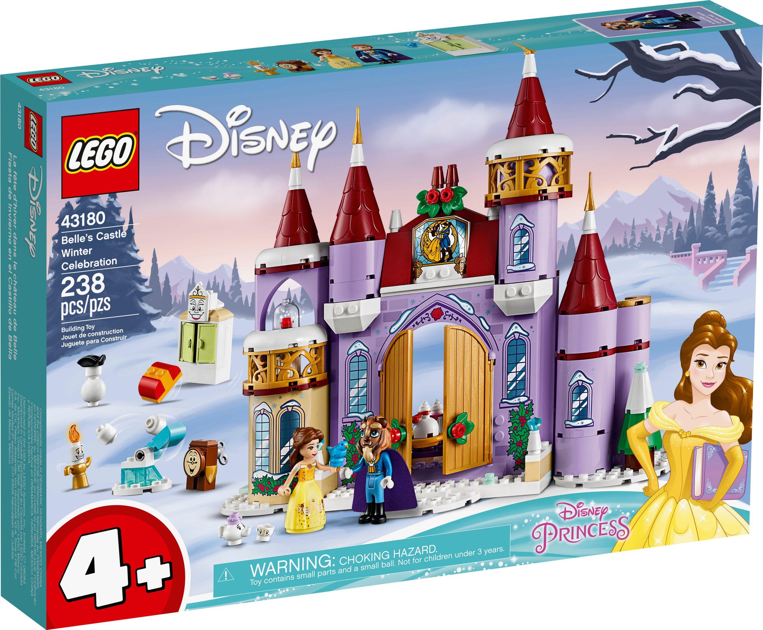 lego 43180 belles castle winter celebration scaled