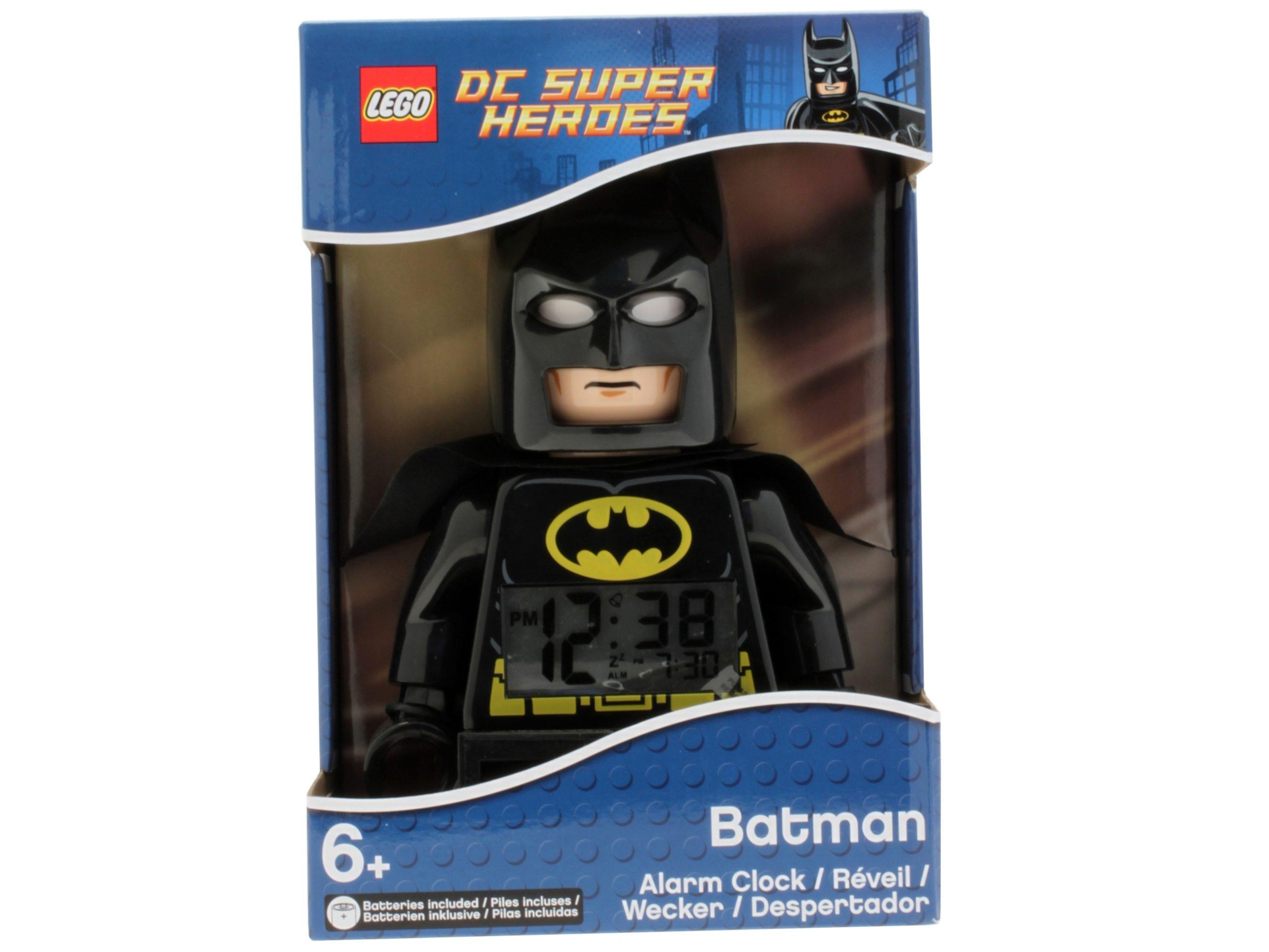 lego 5002423 dc comics super heroes batman minifigure clock scaled