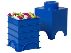 lego 5004268 1 stud blue storage brick