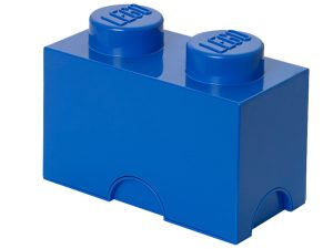 lego 5004280 2 stud blue storage brick