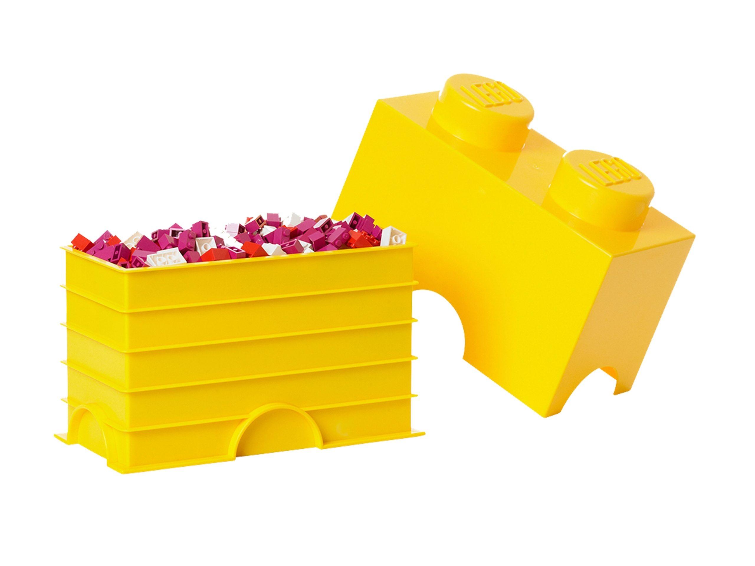 lego 5004891 2 stud yellow storage brick scaled