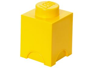 lego 5004898 1 stud yellow storage brick