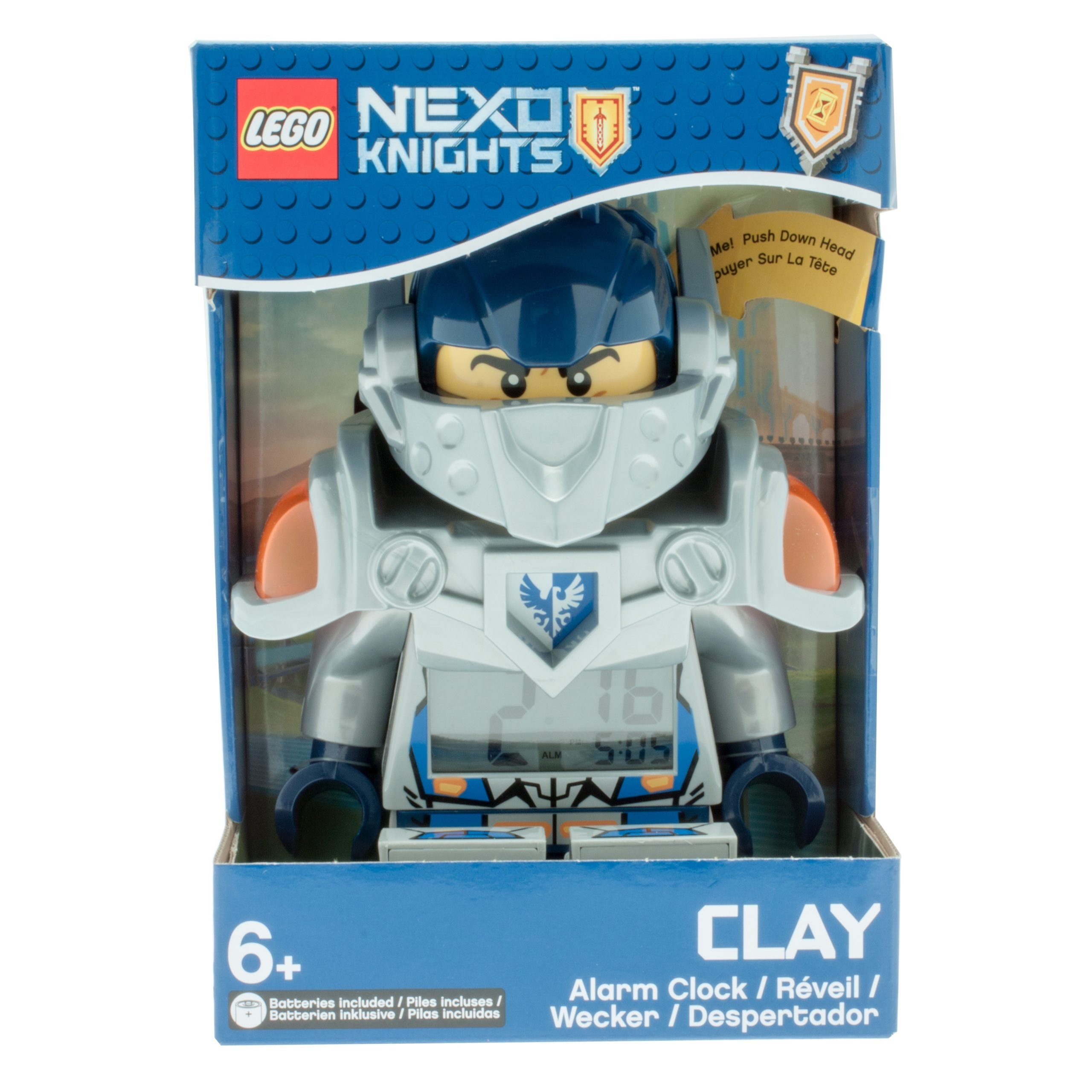 lego 5005115 nexo knights clay minifigure alarm clock scaled