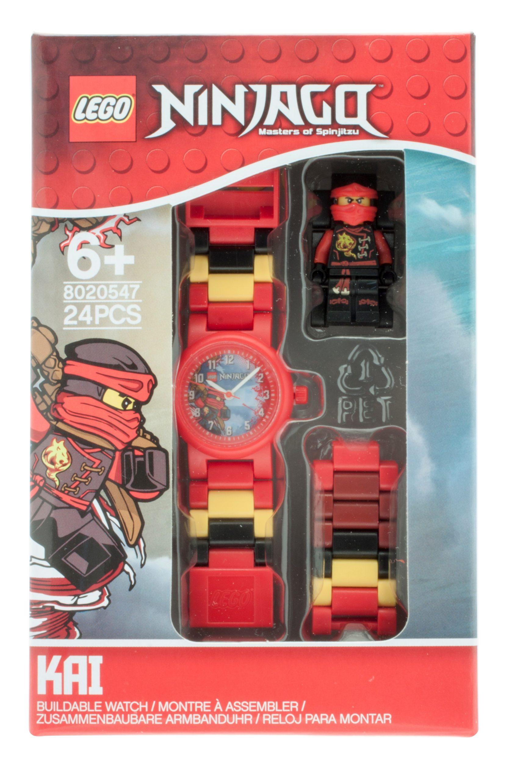 lego 5005122 ninjago sky pirates kai kids buildable watch scaled