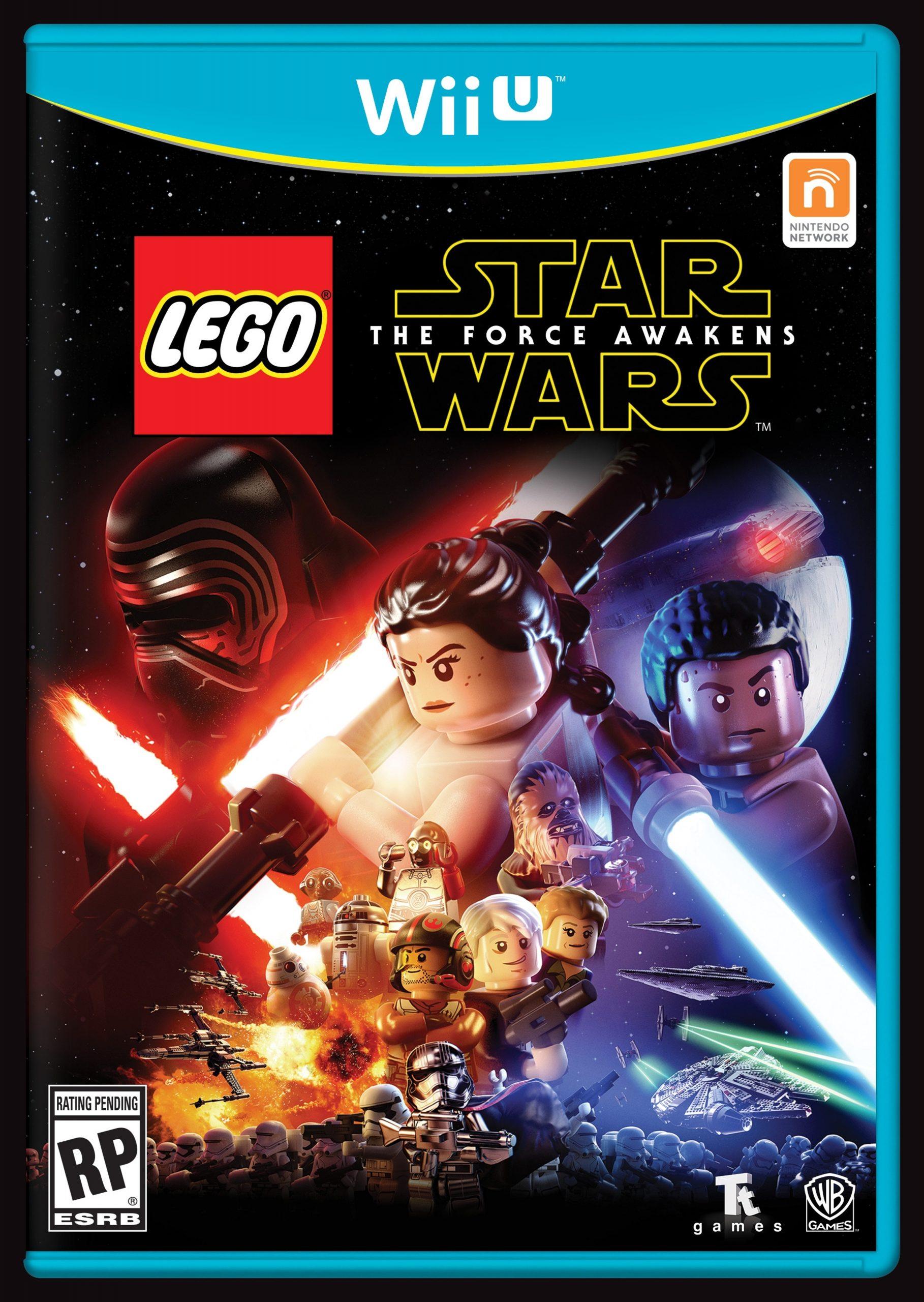 lego 5005141 star wars the force awakens wii u video game scaled