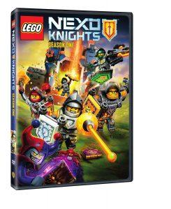 lego 5005182 nexo knights season 1 dvd