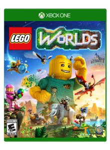 lego 5005372 worlds xbox one video game