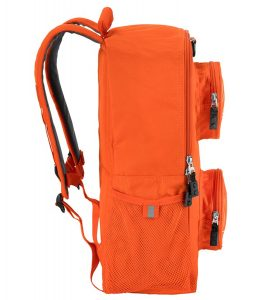 lego 5005521 brick backpack orange