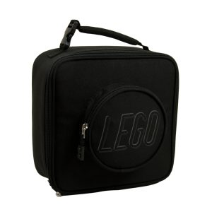 lego 5005533 brick lunch bag black