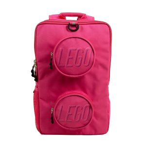 lego 5005534 brick backpack pink