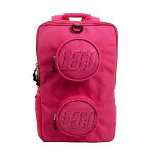 lego 5005534 brick backpack pink