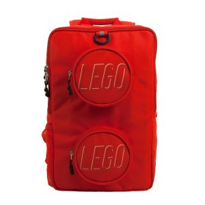 lego 5005536 brick backpack red