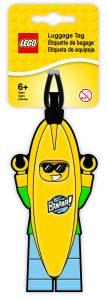 lego 5005580 banana guy luggage tag