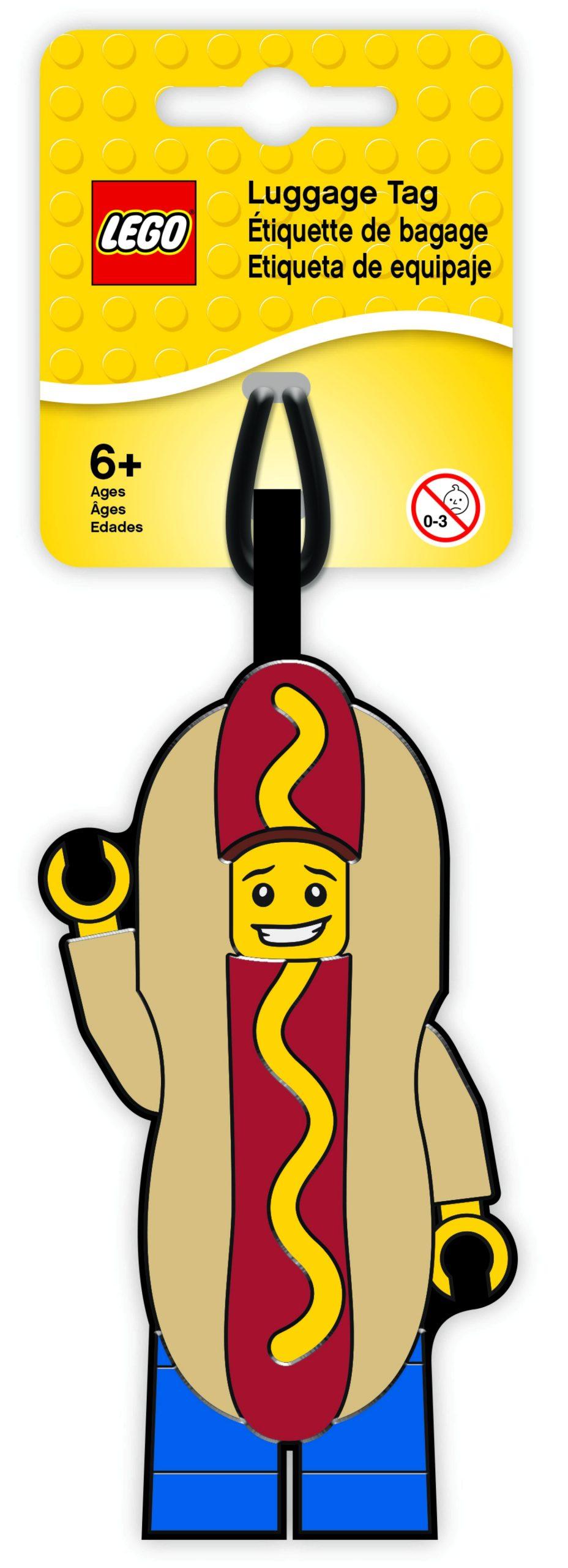 lego 5005582 hot dog guy luggage tag scaled