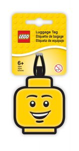 lego 5005618 boy luggage tag