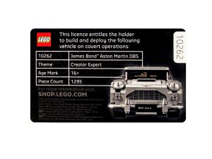 lego 5005665 licence to build