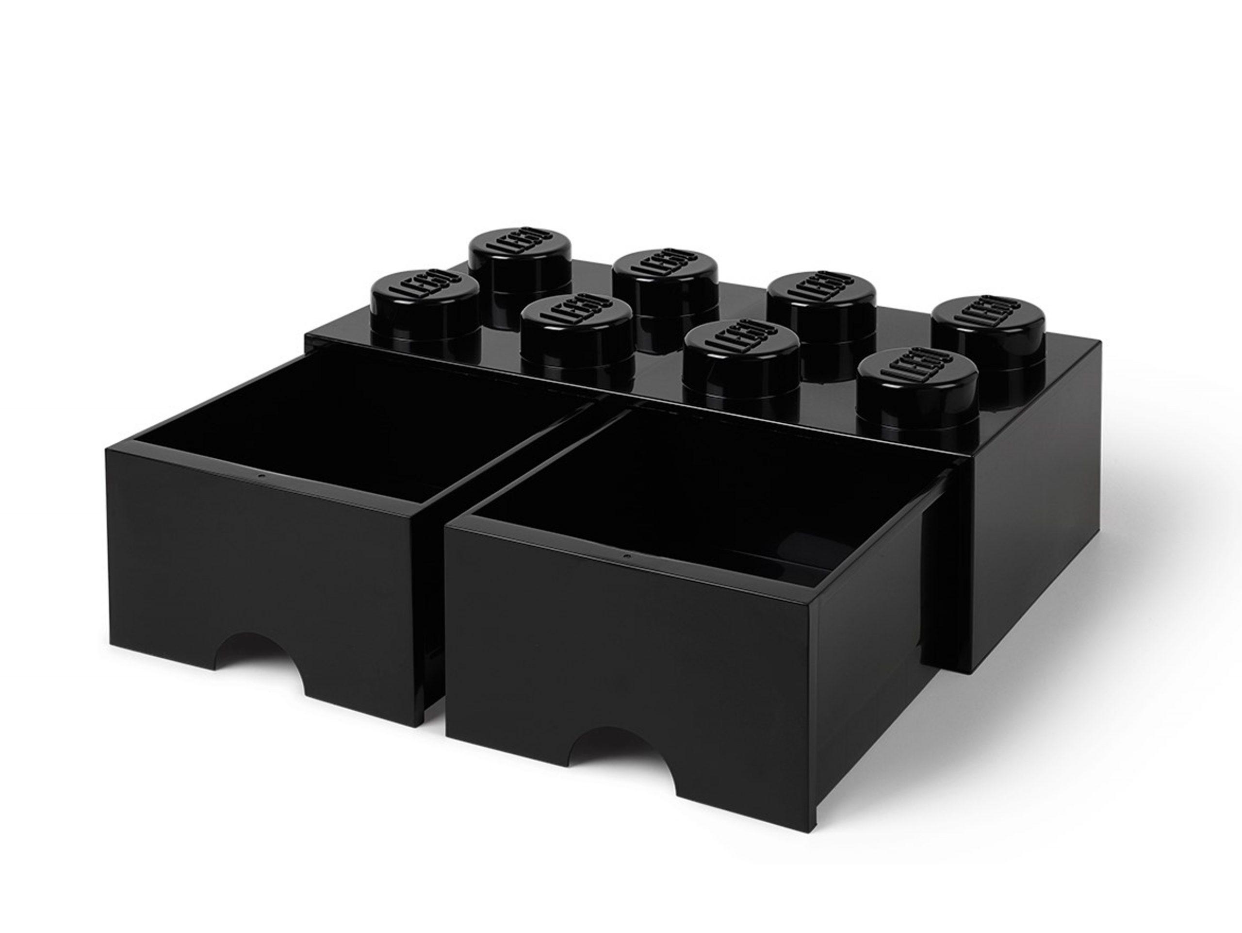 lego 5005718 8 stud black storage brick drawer scaled