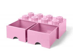 lego 5005719 8 stud light purple storage brick drawer
