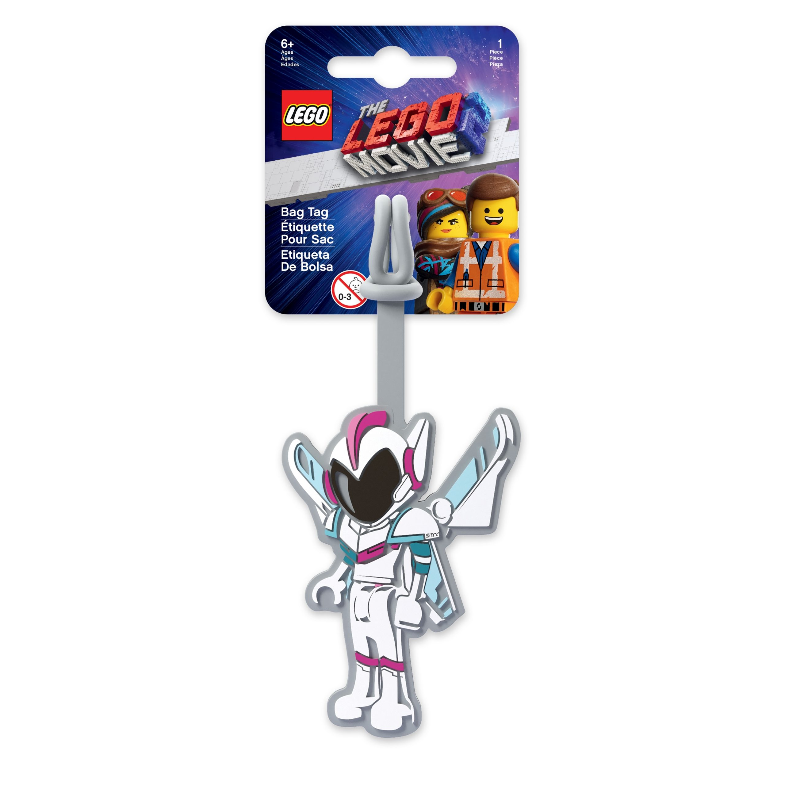 lego 5005735 movie 2 sweet mayhem luggage tag scaled