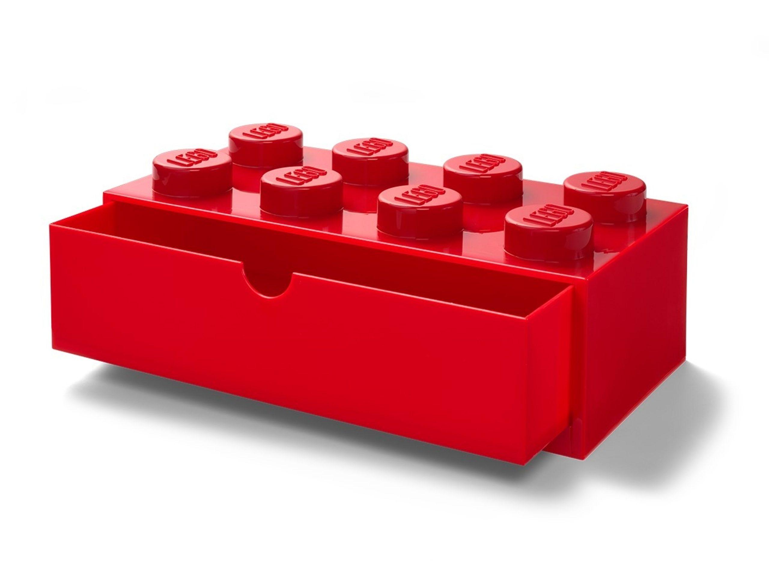 lego 5005871 8 stud red desk drawer scaled