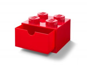 lego 5005872 4 stud red desk drawer