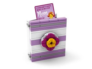 lego 5005878 buildable mothers day card