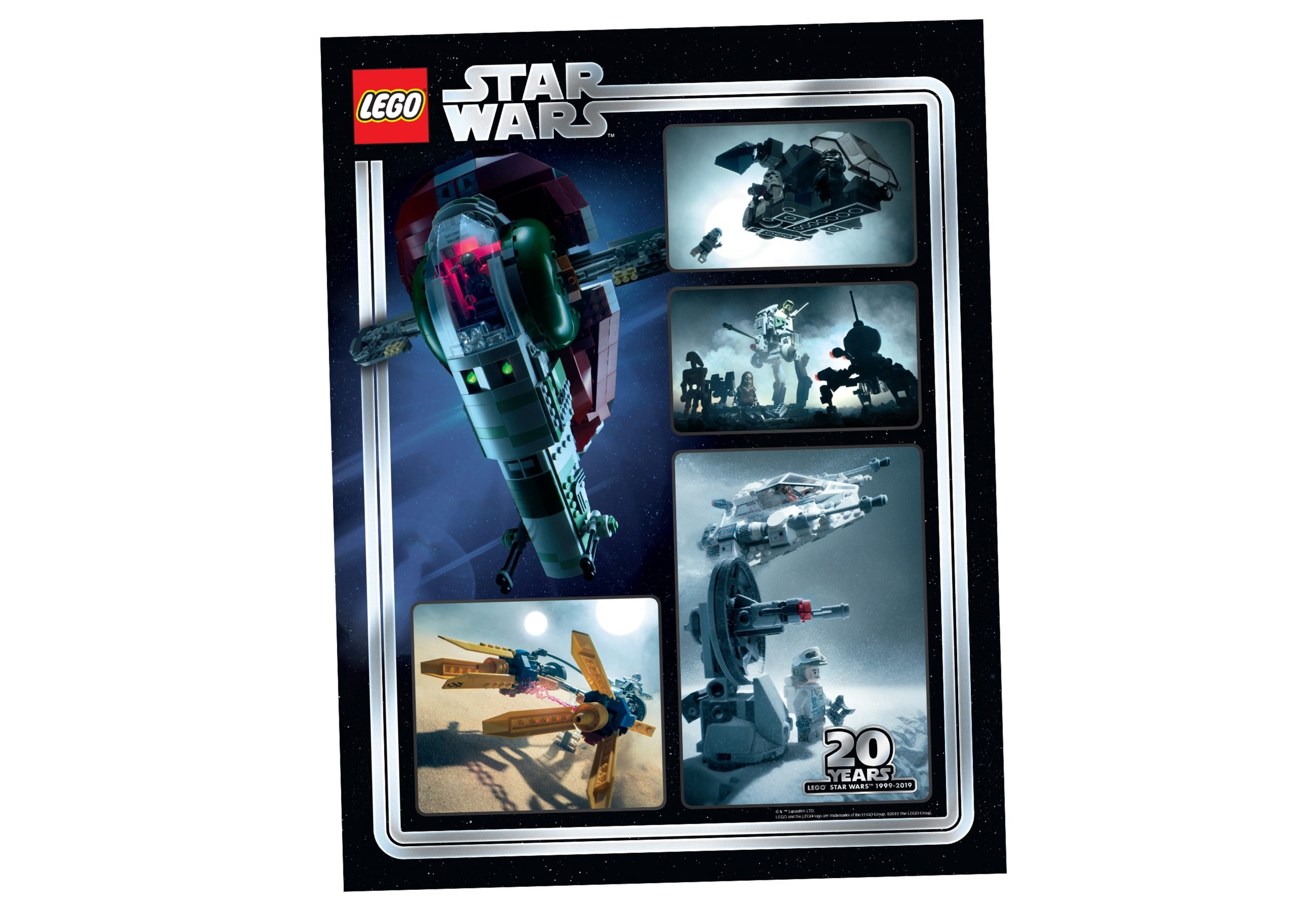 lego 5005888 collectible star wars 20th anniversary art print scaled