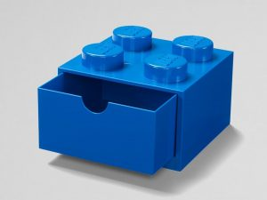 lego 5005889 4 stud blue desk drawer