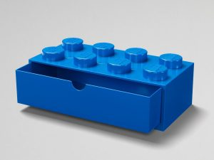 lego 5005891 8 stud blue desk drawer