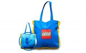 lego 5005910 vip reversible canvas bag