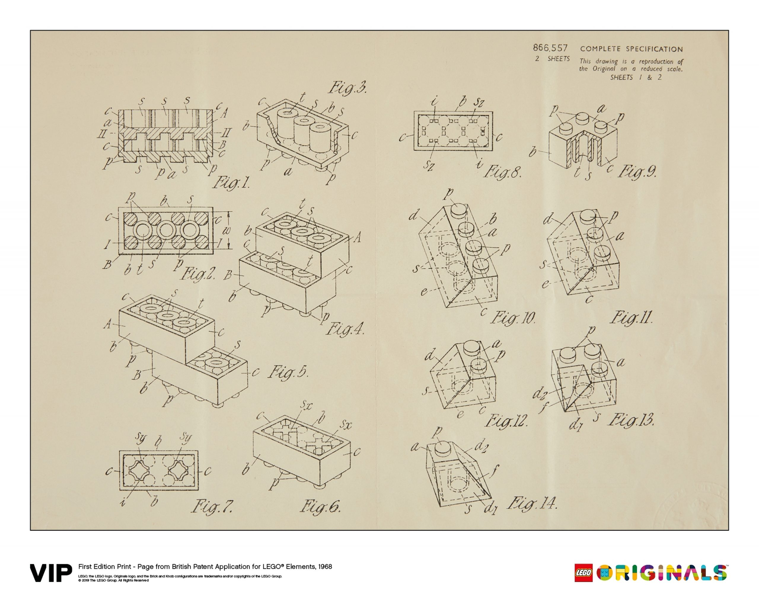 lego 5006004 1st edition print british patent 1968 scaled