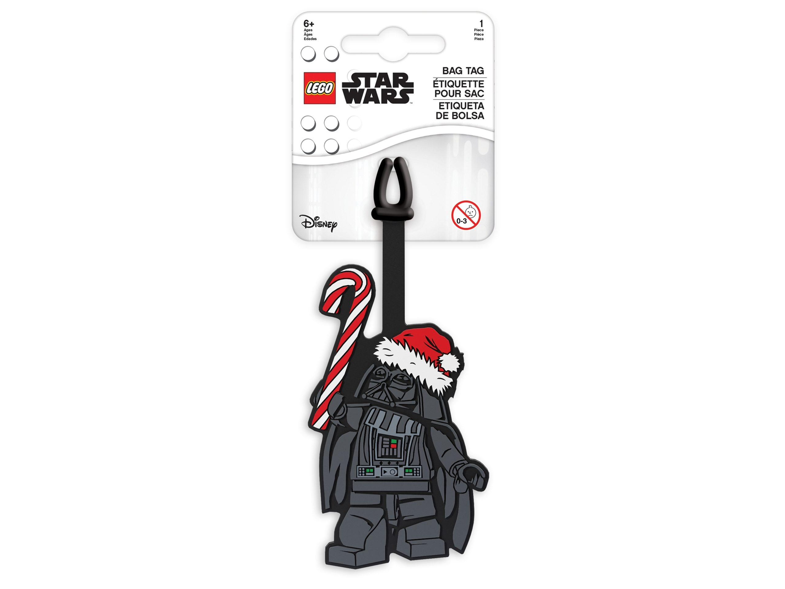 lego 5006033 holiday bag tag darth vader scaled
