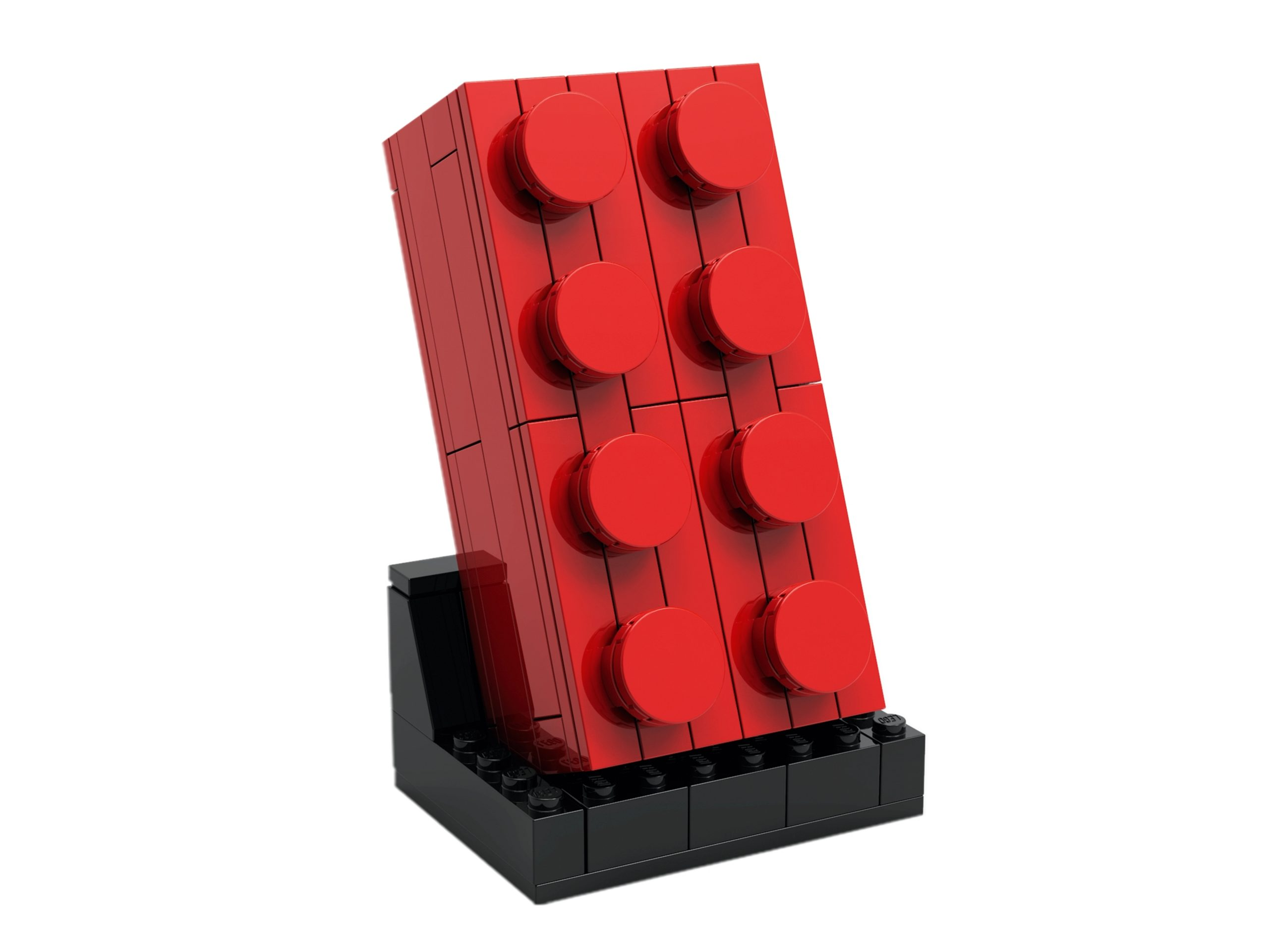 lego 5006085 buildable 2x4 red brick scaled